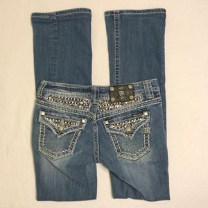 LIKE NEW Miss Me Easy Boot Jeans